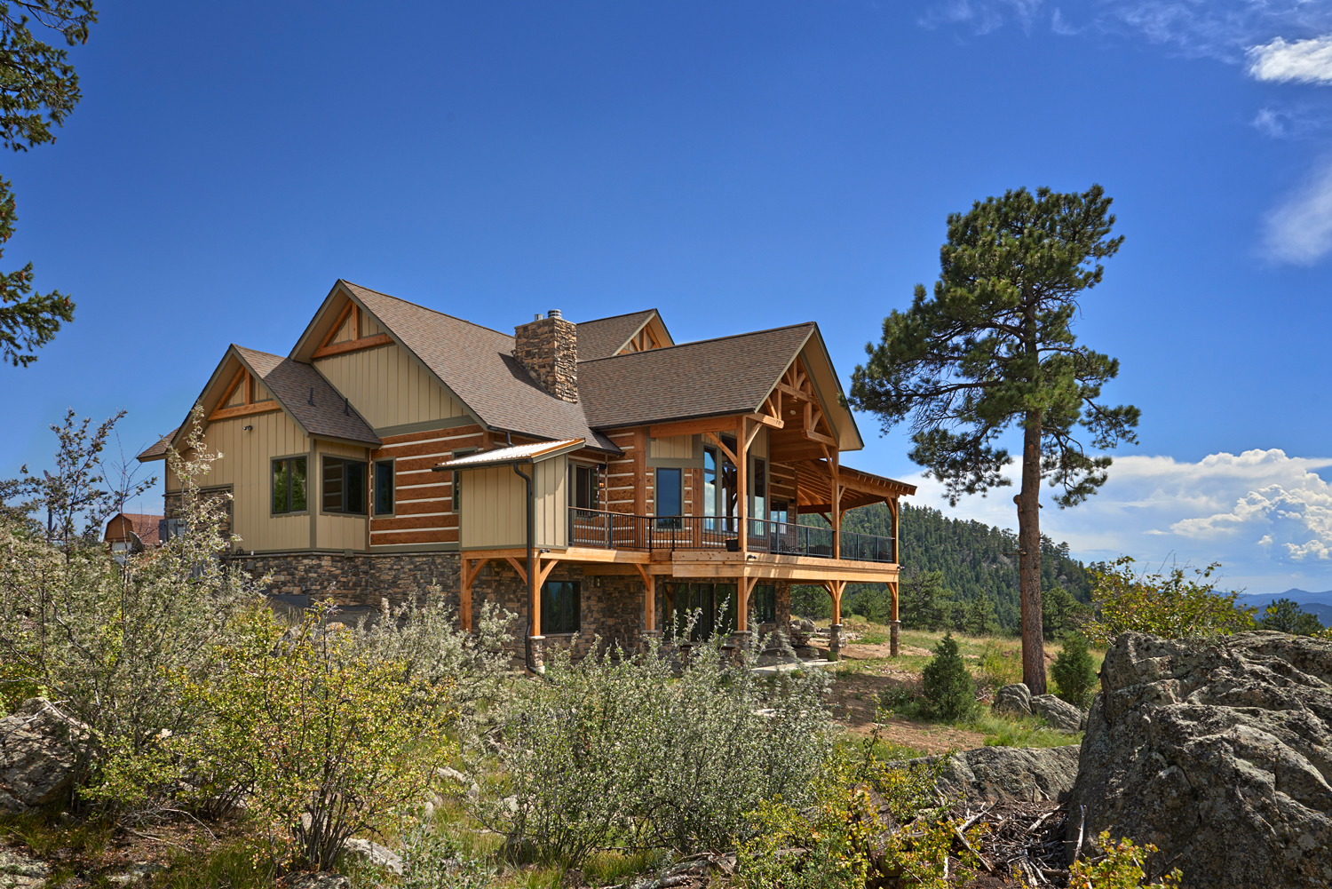 Golden Gate Ranch - Colorado Timberframe