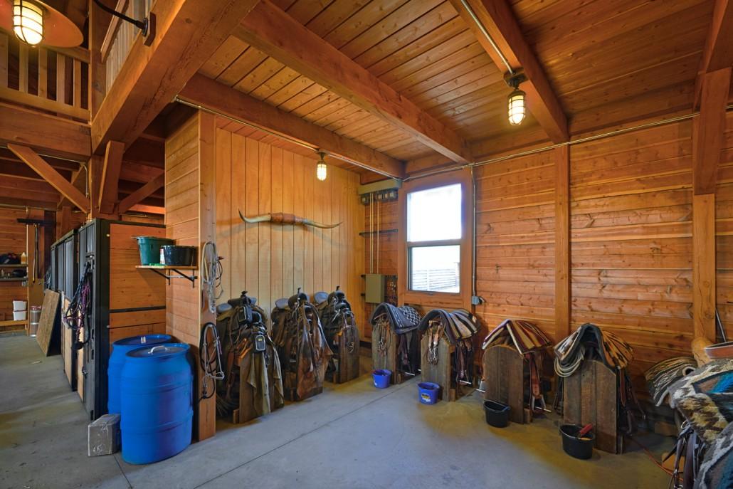 Lucky Dog Ranch Colorado Timberframe