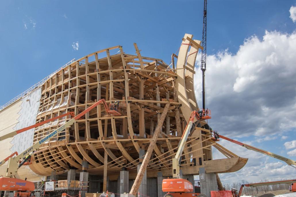 Life Size Noah S Ark Ark Encounter Colorado Timberframe