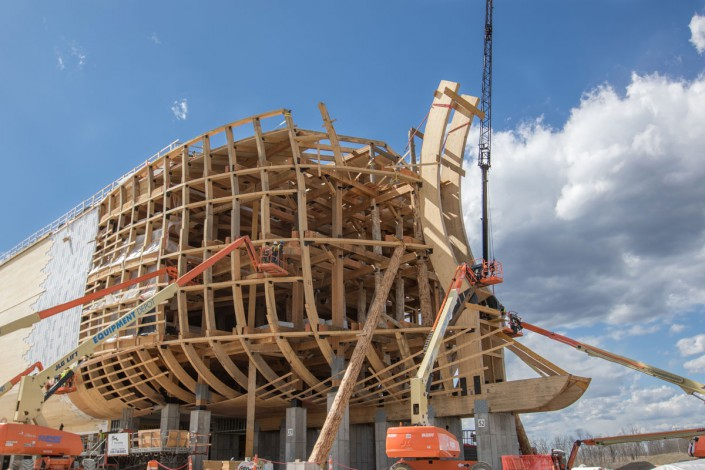 Life Size Noah S Ark Ark Encounter Colorado Timberframe