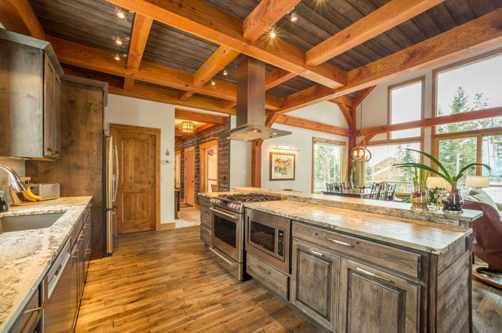 Elk Thistle timber frame kitchen 4