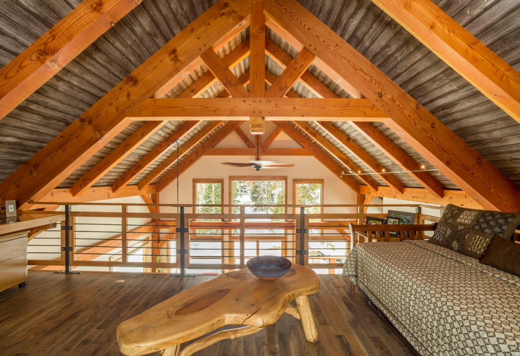 A Timber Frame Design Inspired By Nature Colorado
