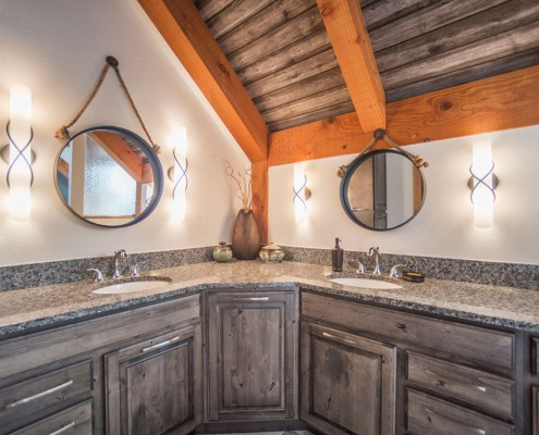 Elk Thistle timber frame bathroom