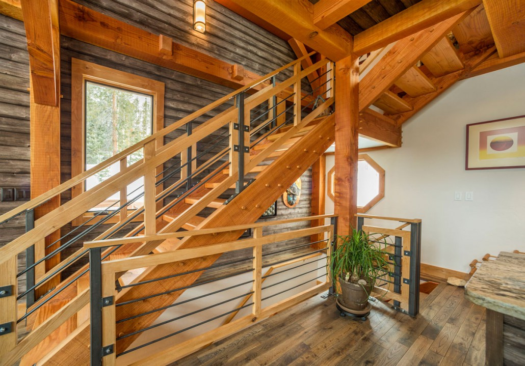 A Design Inspired By Nature Colorado Timberframe