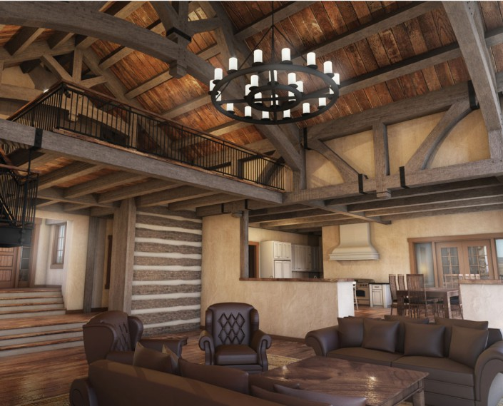 Hill Country Ranch Colorado Timberframe
