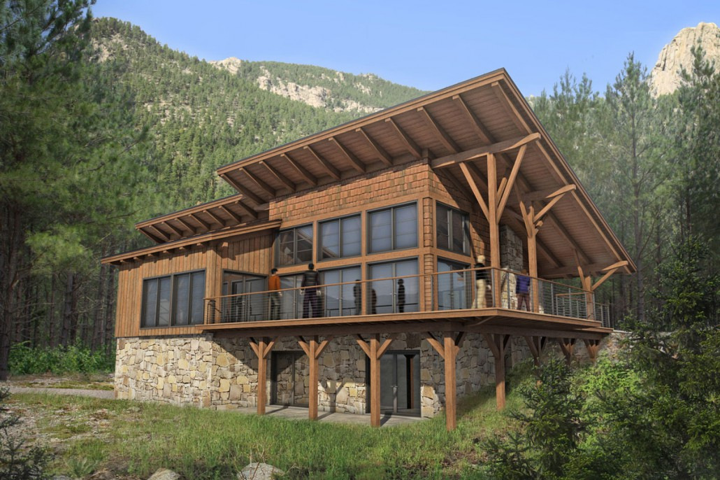 Colorado timberframe custom timber frame homes for Timber framed house plans