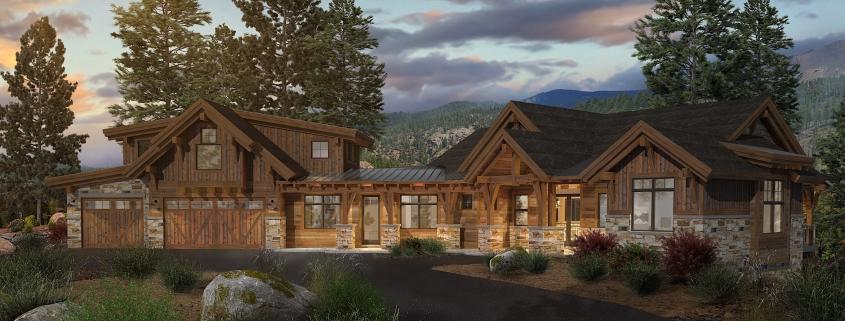 Colorado Timberframe-Sierra floor plan