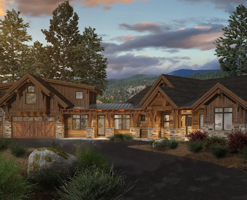 Colorado Timberframe-Sierra floor plan