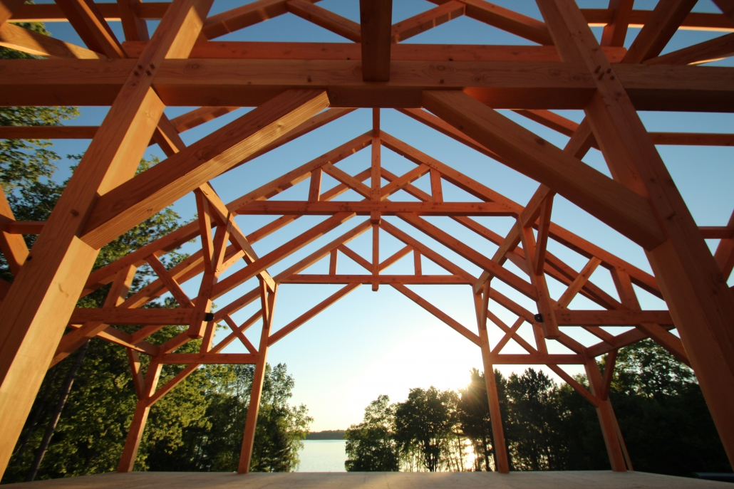 Basic timber frame package