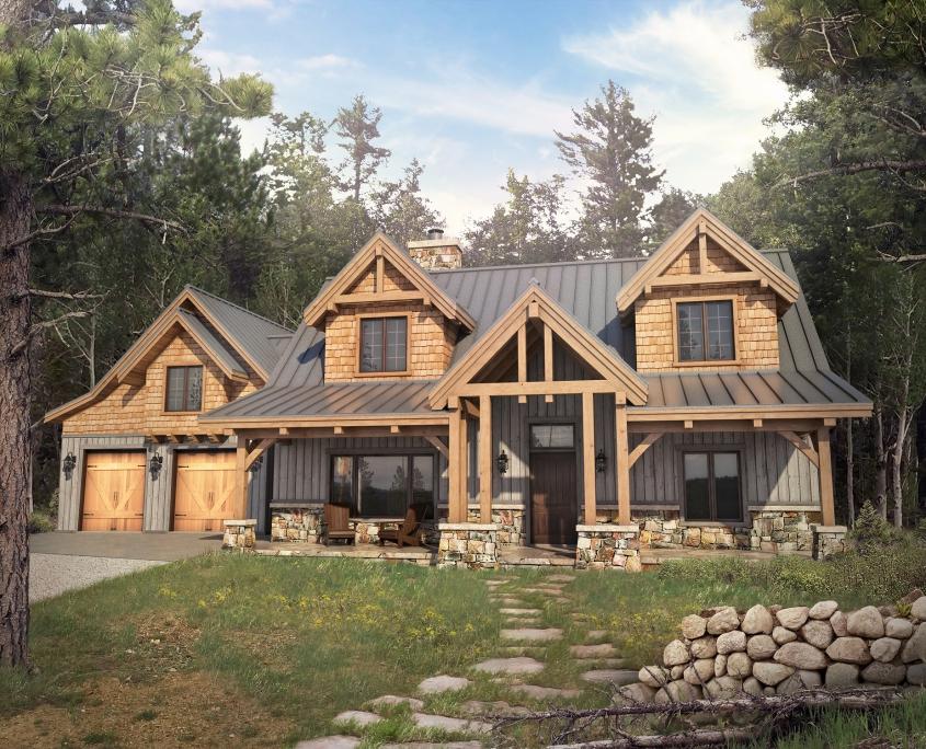 Floor Plans - Colorado Timberframe on