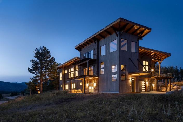 Colorado Timberframe Caribou Ridge lot 18 exterior