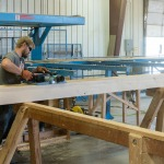 Colorado Timberframe shop wood planer